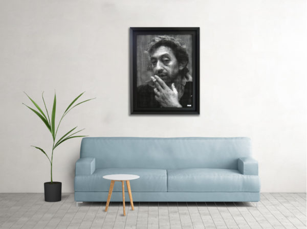 serge gainsbourg sculpture collell
